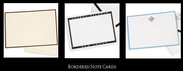border notes